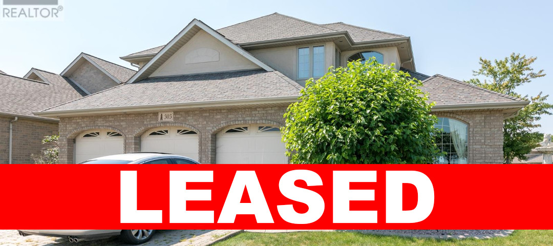 303 Shoreview, Windsor Home For Lease!