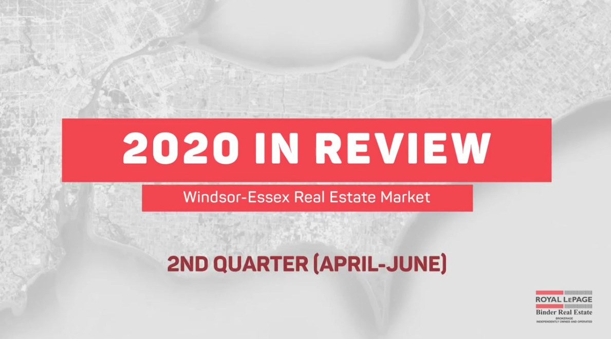 Q2 2020 Real Estate Statistics for Windsor and Essex County