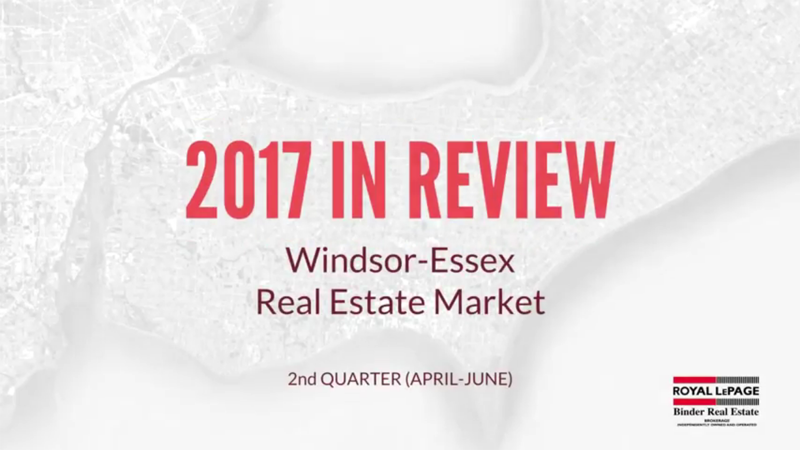 Q2 2017 Windsor-Essex County Real Estate Market Statistics