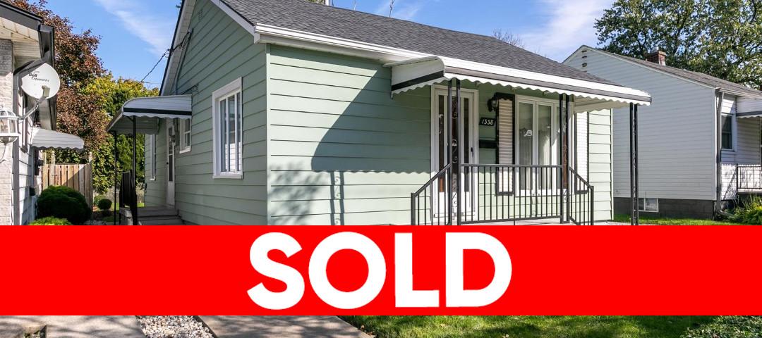 1338 George, Windsor Home Sold!