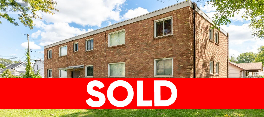 1985 College, Windsor Multi-Family Building Sold!